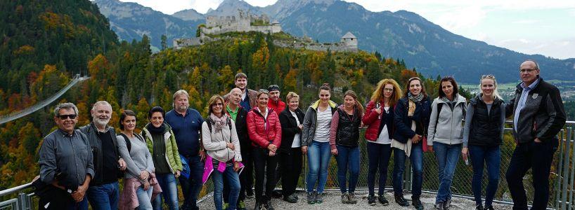 Besuch der Tourismusabteilung der Tiroler Landesregierung